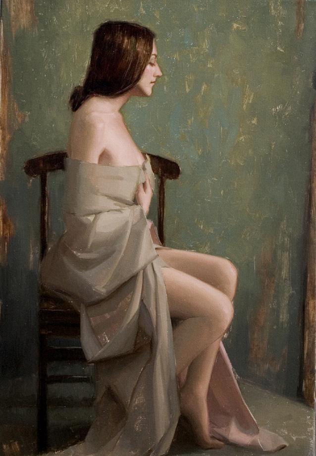 Sarah in Biege by Aaron Westerberg