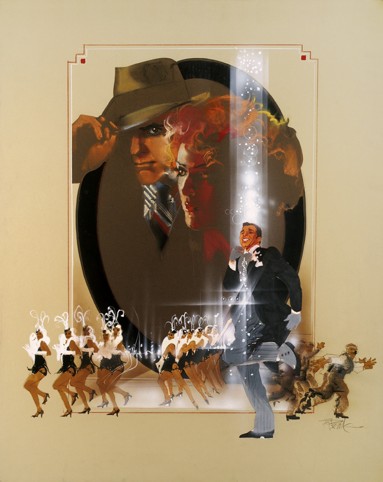 Pennies From Heaven, movie poster alt by Bob Peak