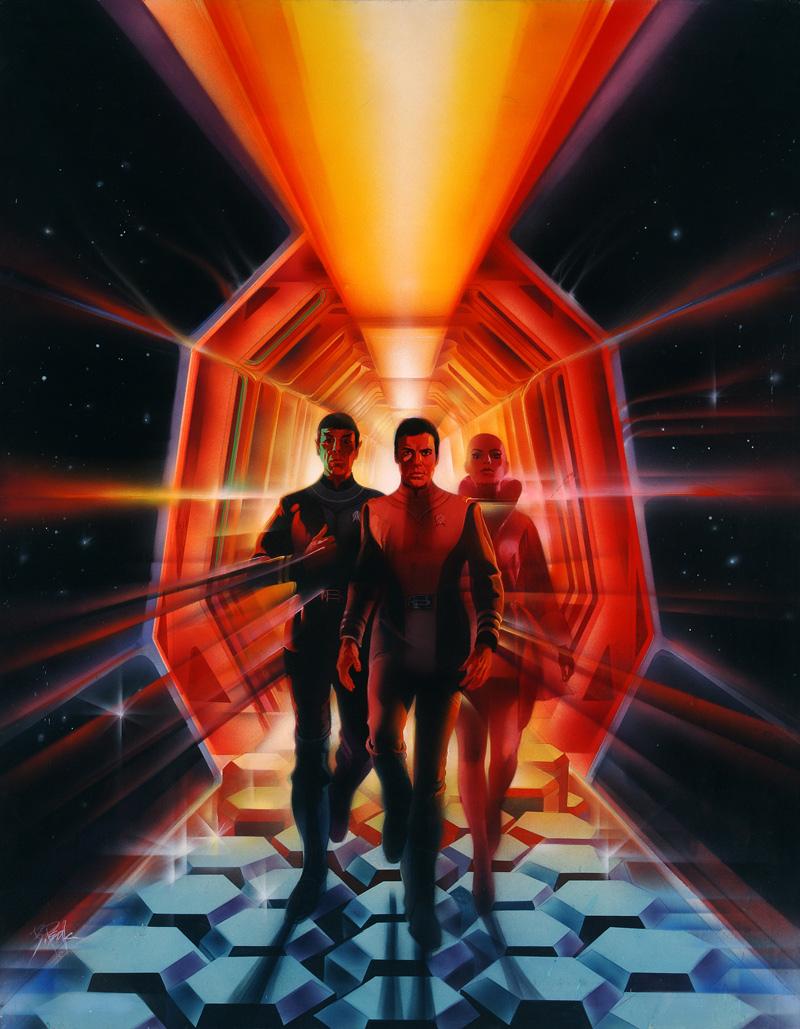 Star Trek the motion picture, original poster art by Bob Peak