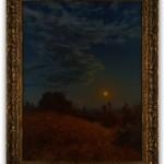 Auburn Moon by Matthew Joseph Peak