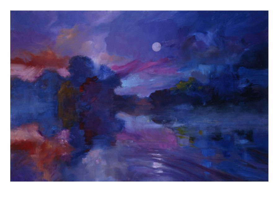 Monika's Lake, limited edition giclee by Matthew Joseph Peak