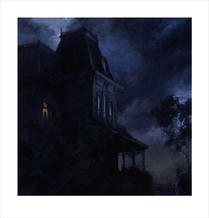 Pscho House painting by Matthew Joseph Peak